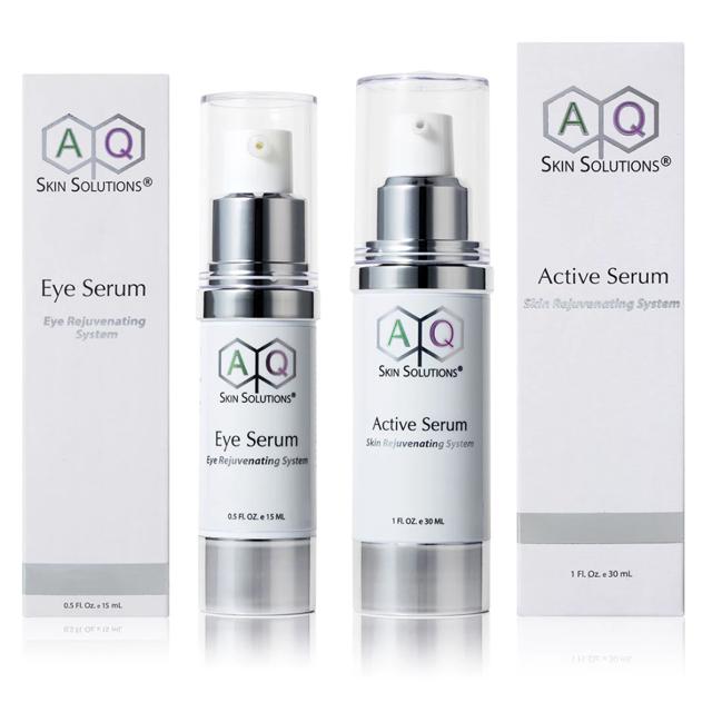 Active and Eye Serum Duo's